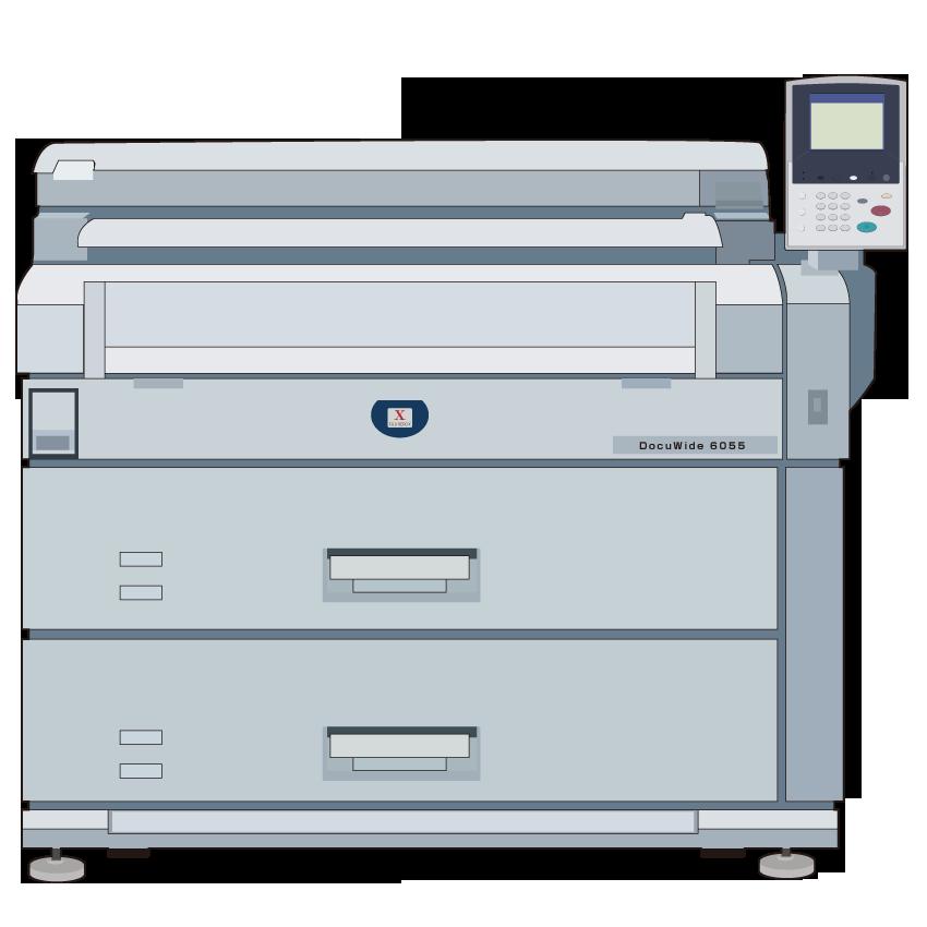 Xerox DocuWide 6055